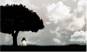 girl_under_a_tree_by_imobin-d41hg42