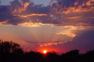 sunset arizona