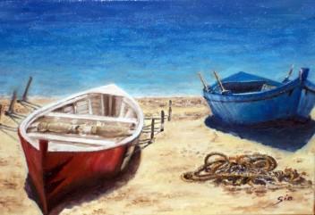 barques a la sorra
