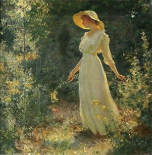 lady-in-the-garden