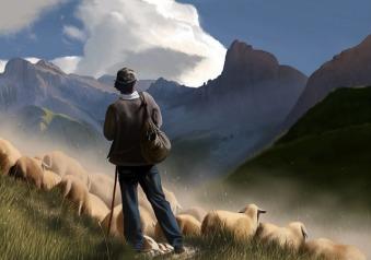 shepherd-ipad-painting